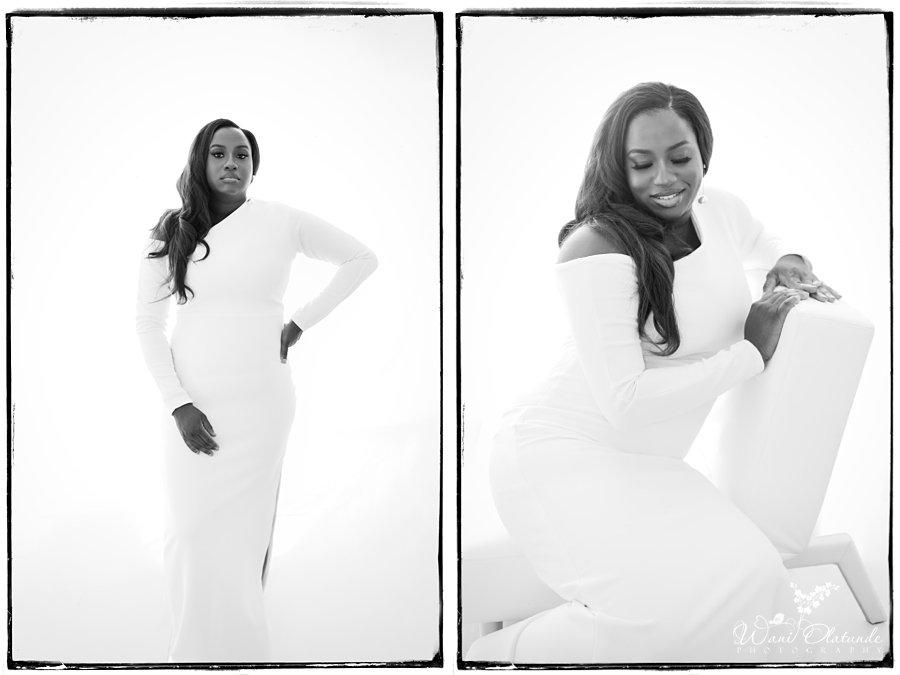 40th birthday photoshoot white dress_Wani Olatunde